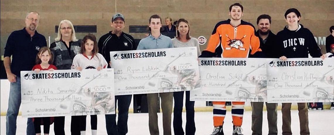 Skates 2 Scholars Winners