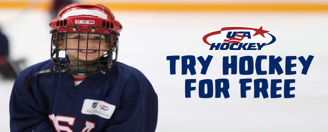 Click Here to Sign up for Try Hockey for Free on February 23