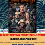 JUMANJI Public Skate Event