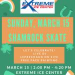 Shamrock Skate!