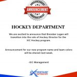XIC Hockey Announcement