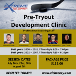 Pre-Tryout Development Clinic